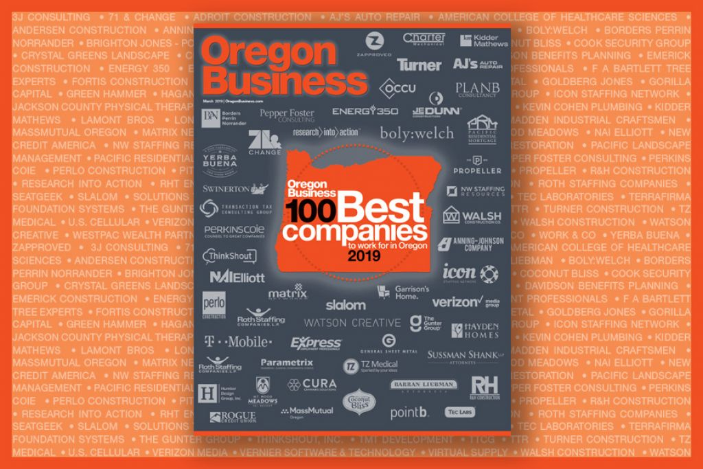 Oregon Business Magazin image for Brand Building example
